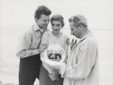 GERARD PHILIPE Becker ANOUK AIMÉE Modigliani Montparnasse Cannes QUINN Photo '58
