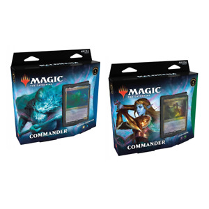 PREORDER Magic the Gathering MTG Kaldheim Commander Decks Set of 2