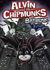 Alvin and the Chipmunks: BATMUNK (DVD) & simon theodore dave cartoon halloween