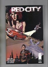RED CITY #2 - 1st PRINTING - MARK DOS SANTOS ART & COVER - 2014