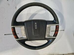07-14 Lincoln Navigator Steering Wheel Black