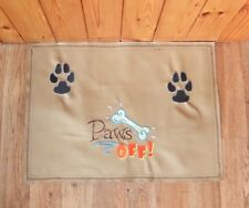 Embroidered dog feeding mat - personalise it for free