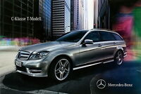 Mercedes C-Klasse T-Modell Prospekt 15.9.10 2011 brochure Autoprospekt