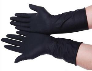 5Pairs Lengthen Latex Gloves Hair Perm Hair Shampoo Hair Coloring Professional