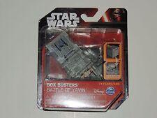 DISNEY STAR WARS BOX BUSTERS *BATTLE OF YAVIN* NEW!