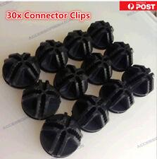 30 Connectors Clips for DIY Cube Storage Cupboard Cabinet Wardrobe Shoe Rack