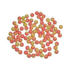 100 ct Bag .43 caliber Dust Powder Balls Paintball Pink/Yellow 11mm waterproof