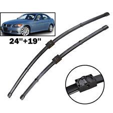 2Pcs For BMW E90 E91 E92 E93 05-09 Front Windscreen Wiper Blades Kit Window