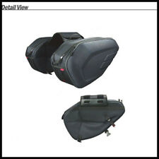 Big Capacity 36-58L Motorcycle Side Luggage Bag Waterproof Rear Seat  Sturdy