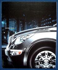 Prospectus brochure 2010 Buick Enclave (USA)
