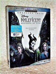 Maleficent Mistress Of Evil (Blu-ray/DVD, 2020) AUC DISNEY sleeping beauty