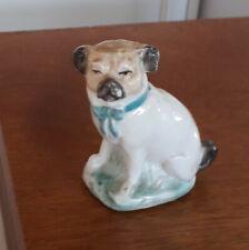 More details for  pottery pug dog model pug dog ornament pug figurine