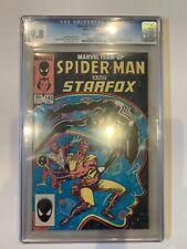 Marvel Team-Up 143 CGC 9.8 W    Spider-Man   Starfox