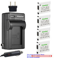 Kastar Battery Travel Charger for Canon NB-11L CB-2LD & Canon IXUS 130 Camera