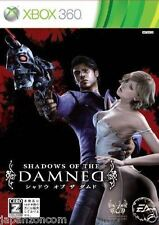 Used Xbox 360 Shadows of the Damned MICROSOFT JAPAN JP JAPANESE JAPONAIS IMPORT