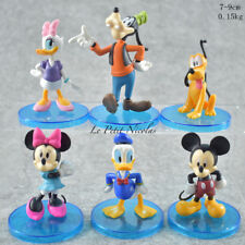 Disney Mickey Mouse lot de 6 figurines Playset Donald Minnie jouet gâteau topper