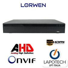 Lorwen DVR 8 ch canali ibrido XVR2MR8C 16 canali IP AHD TVI CVI Onvif Hdmi NVR