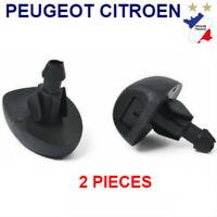 BUSE GICLEUR de LAVE-GLACE PARE BRISE Peugeot 207 307 308 406 607 3008 NEW