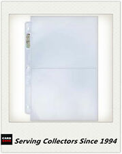 """Ultra Pro Platinum 2 Pocket 5""""x7"""" Pages x 10 Pages- BRAND NEW-Cricket Photo Card"""