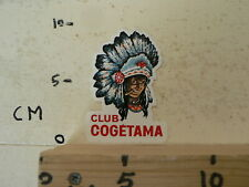 STICKER,DECAL CLUB COGETAMA INDIAN INDIAAN  CIGARS  SIGAREN ?