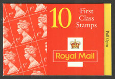 GB QEII BARCODE Stamp Booklet HD21 10 x 1st 1995 SG 1671 QUESTA