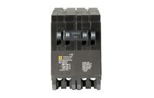 Homeline 2-20 Amp 2-Pole Quad Tandem Circuit Breaker 1-20 Amp Single-Pole