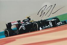 Bruno Senna Hand Signed 12x8 Photo Williams F1 18.