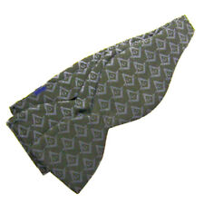 MASONIC BOW TIE * SILK * SELF TIE * NEW * 4 TONE on TONE COLORS TO CHOOSE FROM