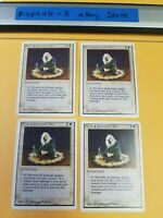4x Circle of Protection: Blue | Unlimited | MTG Magic The Gathering Cards
