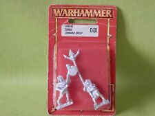 WARHAMMER AOS - VAMPIRE COUNTS ARMY UNDEAD ZOMBIE COMMAND GROUP IN BLISTER