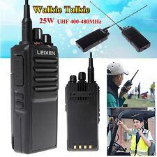 2016 LEIXEN NOTE 25W UHF 400-480MHz FM Ham Two-way Radio Handheld Walkie Talkie
