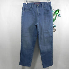 Gloria Vanderbilt Womens Jeans Amanda Stretch Cotton Blend Denim size 8 - 29x27
