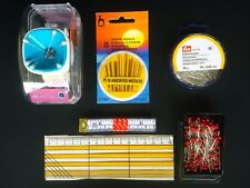 Dressmaking Tailoring Pack  A - Tape Pins Needles Seam Allowance Ruler Slap-band