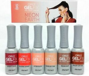 Orly Neon Earth Collection Summer 2018 Gel FX Gel Polish Set of 6