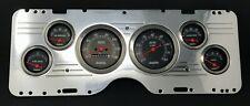 1977 Chevy Nova 6 Gauge Dash Panel Cluster Mechanical Black