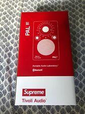 SUPREME ® / TIVOLI ® PAL BT BLUETOOTH RADIO SPEAKER AM FM IN HAND!
