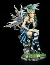 Elves Figurine - Dragon Guardian Dragomera - Fantasy Fairy Drachenelfe Deco