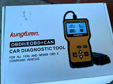 Kungfuren OBDII/EOBD+CAN Car Diagnostic Tool Universal OBD2 Code Reader CarCheck