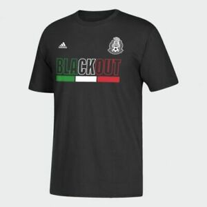 Adidas MLS Mexico National Blackout Tee Black/Green/White/Red FU0318