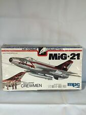 Vtg. New Mpc Mig-21 Air Combat Airplane Model Kit # 2-2108 1977 1:72
