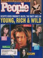 People Weekly January 17 1994 River Phoenix Johnny Depp 100818ame