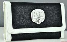 Porte-monnaie et portefeuilles Zip complet noir pour femme