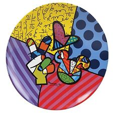 Disney Britto Peace Love Micky Maus Teller Sammelteller Plates
