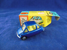 Corgi 233 Heinkel - I Economy Bubble Car in Metallic Blue