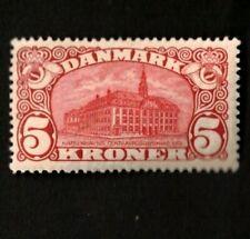 Denmark 1912 Sc# 82 5k Red