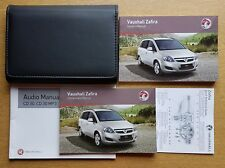 GENUINE VAUXHALL ZAFIRA B OWNERS MANUAL HANDBOOK  2008-2014 PACK D-517