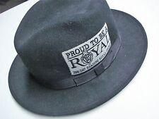 READING ROYALS ECHL 2006-2007 HOCKEY PROUD TO BE A ROYAL BLACK LITE FELT TOP HAT