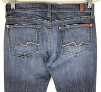 7 For All Mankind Flip Flop Bootcut Womens Jeans Stretch Tag Sz 27 Actual 30x27