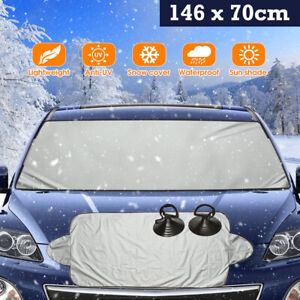 Car Front Windshield Snow Protect Cover Anti Ice Sun SUV Frost Protector Cover