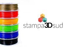 Bobina filamento PLA per stampante 3D, diam 1.75 peso 1 KG, colore a scelta